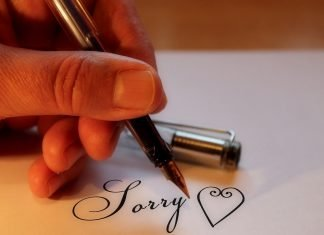I'm Sorry Letters for Hurt Feelings